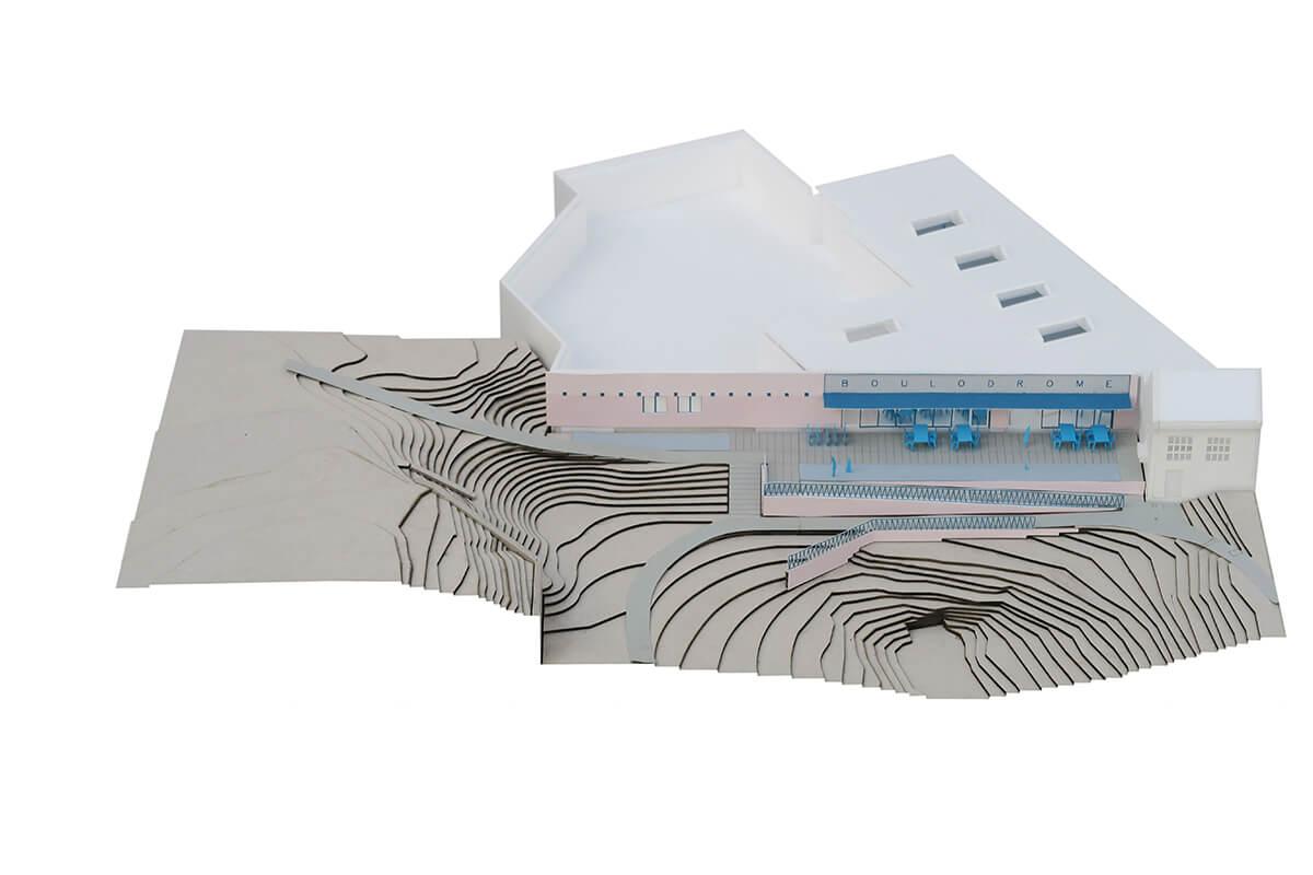 Avant-projet Boulodrome ©Ledroit Pierret Polet architectes et Pigeon Ochej paysage